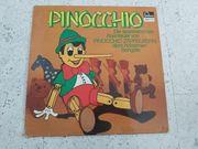 Schallplatte - Pinocchio