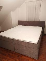 Boxspringbett mit Bettkasten 180 x