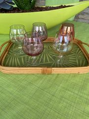 Cognac Gläser aus den 60ern