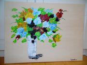 Acrylbild Gemälde abstrakte Kunst bunt
