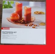 Duftkerzen Set Orange 30tlg NEU
