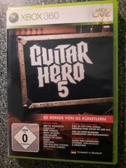 xbox Spiel Guitar Hero 5