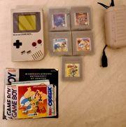 Nintendo Game Boy 5 Spiele