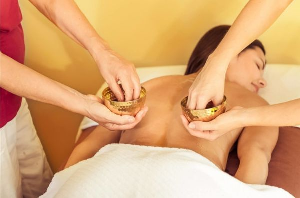 Indische 4 Hand Massage