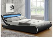 Polster Bett mit LED180 200