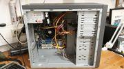 LG PC mit Tastatur und