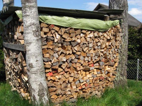 Brennholz günstig ofenfertig 33cm Fichte
