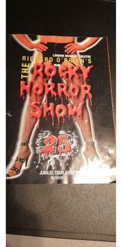 Musical Programmzeitschrift Rocky Horror Show