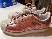 Adidas Superstar W rosegold Gr