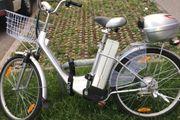Senioren Elektro Fahrrad ca 1