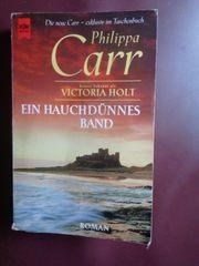 Buch Liebesroman Ein hauchdünnes Band