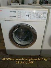 AEG Waschmaschine 1200 Umin gebraucht