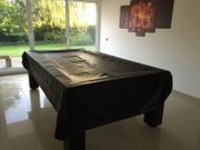Billardtisch Trento schwarz 8ft 254x142cm