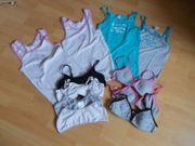 4 Unterhemden 4 Bustiers 3