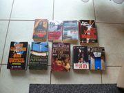 Bücher Thriller 9 Stück zu
