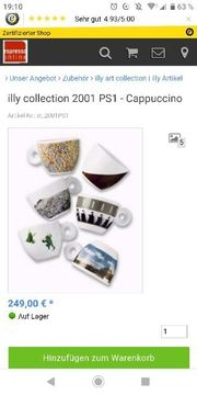 SALE Illy Collection 2001 PS1