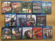 Diverse Blu-ray Filme Film-Boxen in