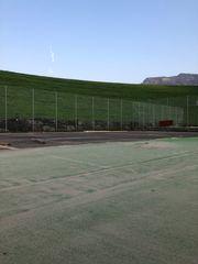 Tennis Teppich plätze