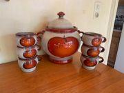 Bowle Set aus Porzellan