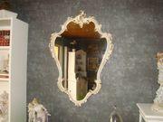 1364 Venezianischer Barock - Spiegel Cremgold