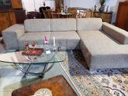 Sofa mit Ottomane