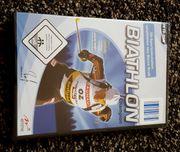 Biathlon Computerspiel - originalverpackte Neuware