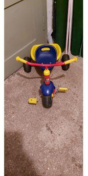 Kettler Dreirad mit Ladeschale für
