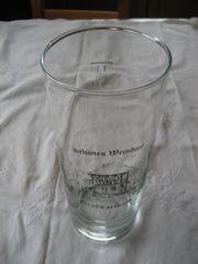 2x Weinglas 1 Liter mit