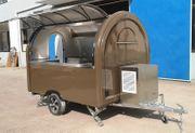 FOOD TRUCK TRAILER Verkaufsanhänger Verkaufswagen