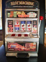 Spardose Spielautomat Slotmachine Licht Sound