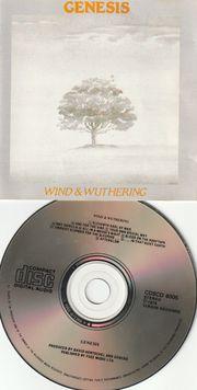80 s CD - Genesis - Wind
