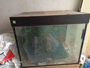 Aquarium gebraucht komplett 80x60x60 BXHXT