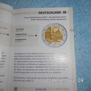 Deutschland 2 Euro Baden Würtemberg