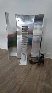 Pflanzlampe Anzuchtlampe Fassung mit Reflektionsblech