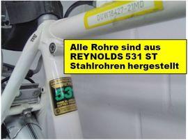 Herren-Fahrräder - Reiserad maßgeschneidert v Rahmenbauer Hans