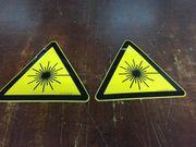 Warnschild Warnung