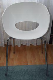 SINTESI ORBIT LARGE Design-Stuhl weiß