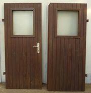 Doppeltür Holztür Holz Tür Werkstattür