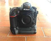Nikon D800 Body Akku griff