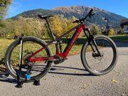 E Mountainbike Trek Rail 7