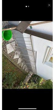 Edelstahl Zaun ca 10 meter