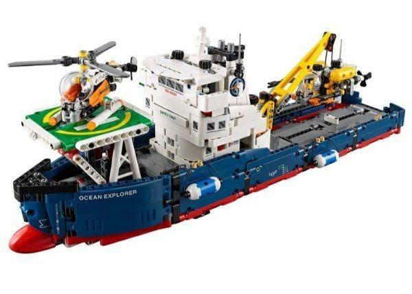 Lego Technik Frachtschiff
