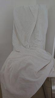 Spannbettlaken - weiß - 90-100 x 200