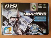 Grafikkarte MSI N84000GS 512 MB