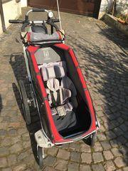 Fahrradanhänger Babyjogger Chariot CX1 rot