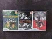 3 Wii Spiele