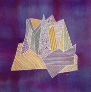 Textilkunst Stickerei Motiv Eisberg 40