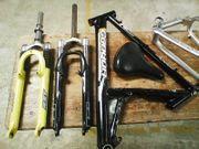 Fahrradteile aus HHA im verwertbarem