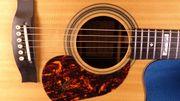 Gitarrist in mit Gesang für
