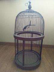 Dekorativer antiker Vogelkäfig